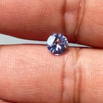 Very light blue/white sapphire