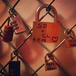 Our contribution to the LoveLock wall!