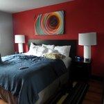 Super comfy beds! Room 301