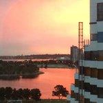 Nine lounge sunset