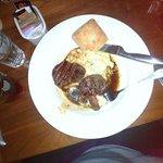 Beef Tenderloins and Rosemary Garlic Potatoes