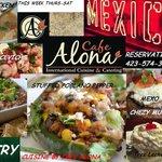 international cuisine April 10th - 12th dinner