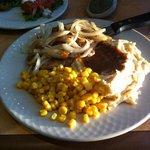 Pork Chop special, $7.99