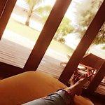 Relaxing in room 2