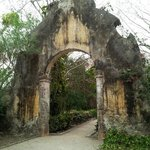 Archway entering the grounds of Hacienda San Jose