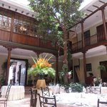 Central Courtyard/Dining Chamber