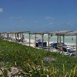 Huts at the beach
