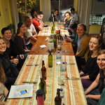 One of our international food parties!