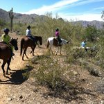 trail riding with kids