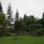 向陽山民宿庭院景觀