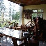 向陽山民宿用餐區景觀
