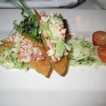 Maine Lobster and Avocado Wontons