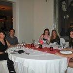 Dinner at the Italian Restaurant.
