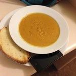 Meals were of generous size - gigantic soup