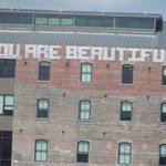 """""""You Are Beautiful"""" building"""