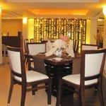 Dining tables in Siena Italian restaurant