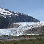 Glacier from the distance