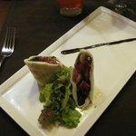 An appetizer at Siena Italian restaurant