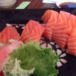Each piece of sashimi is about 2 ounces... Amazing!