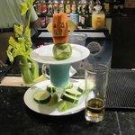 Lobby Bartender handiwork