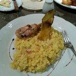 Rissotto de pollo 130 pesos
