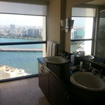 Bathroom view from suite