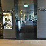 The hotel's restaurant 'Windows'