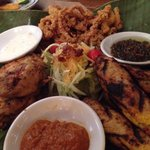 Bali trio-starter. Good for sharing