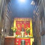 Linga & Shrine inside one of the towers.