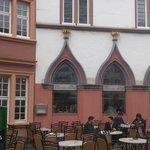 The restaurant, next tot the Toy Museum in Trier