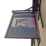 They used to hang people outside the Penllwyndu after bringing them up from Cardigan.  They woul