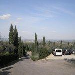 vista delle colline circostanti