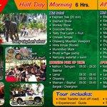 Elephant Trekking program of Funny Day Safari Koh Samui