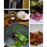 TERRARIUM | Mixed Salad w/ Jamon , Navel Orange Confit & Balsamic