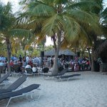 Concerts on Friday evening on the beach