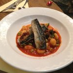 Pan Fried Mackerel  with Gnocchi for main