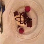 Pre dessert chocolate trio