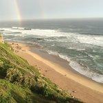After rain, a rainbow