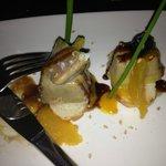 Bonbons of pate de foie