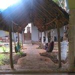 patio dove si fa colazione