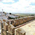 Вид с Альказара на город окрестности