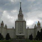 Antiguo edificio soviético (Universidad de Moscú)