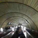 Metro de Moscú(espectacular)