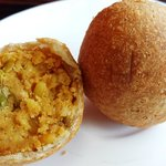 Lentil Kachori, pastry with a filling of spicy crushed lentils