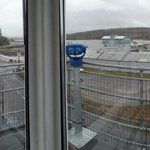 View of Foynes from old control tower