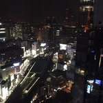 view from my room on the 29th floor.