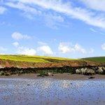 Sabdy Haven Beach, a short walk from Fields Lodge