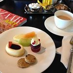 Afternoon Tea at the Club Executive Lounge