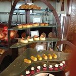Afternoon Tea Cakes at the Club Executive Lounge