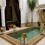 Pool/Sofa Area